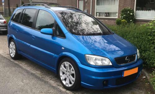 Opel Zafira A OPC<br>Gerard Duinkerken